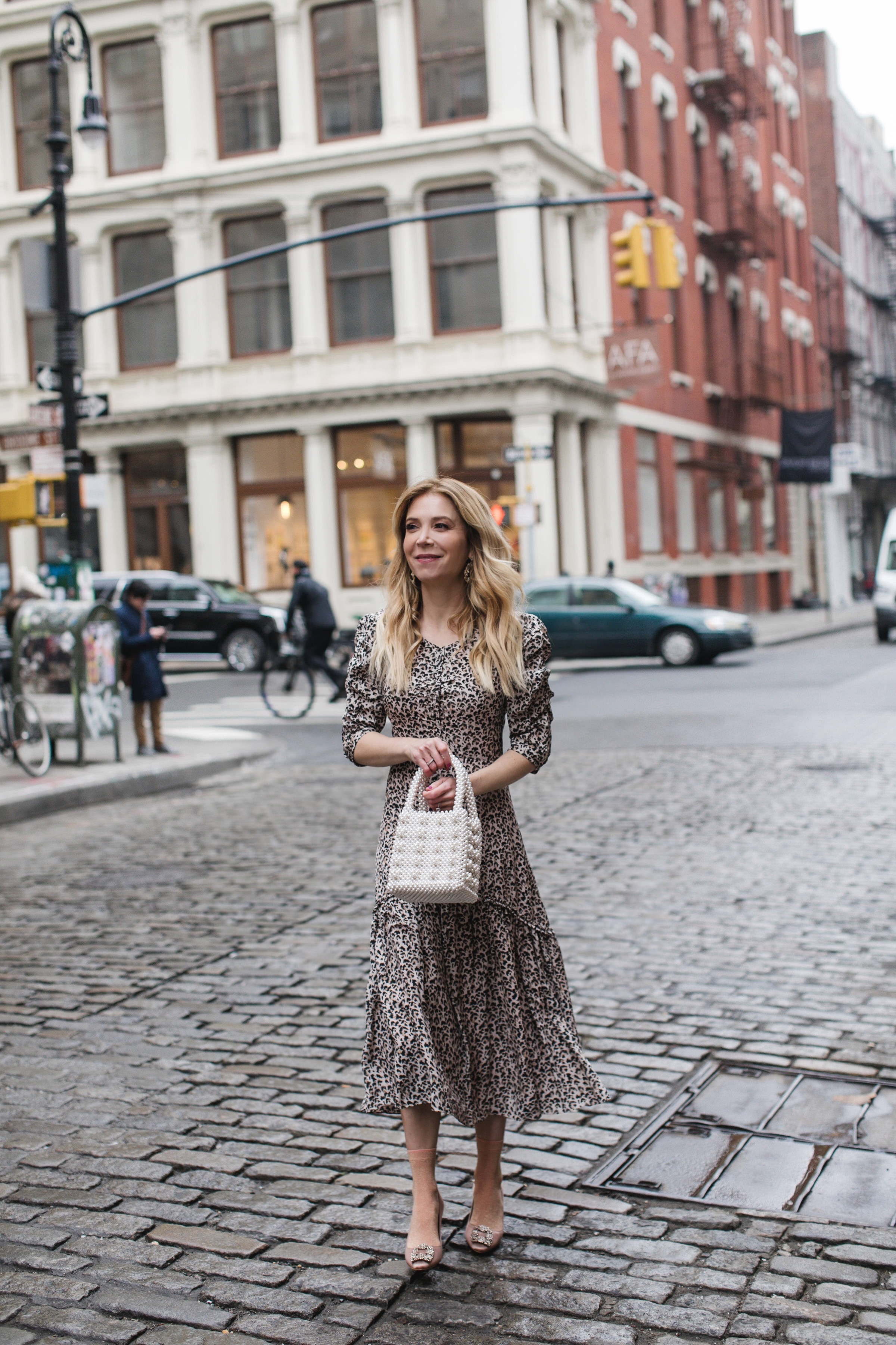Rebecca Taylor leopard dress, Rebecca Taylor dress, NYC fashion blogger, Laura Bonner, www.abouttheoutfits.com