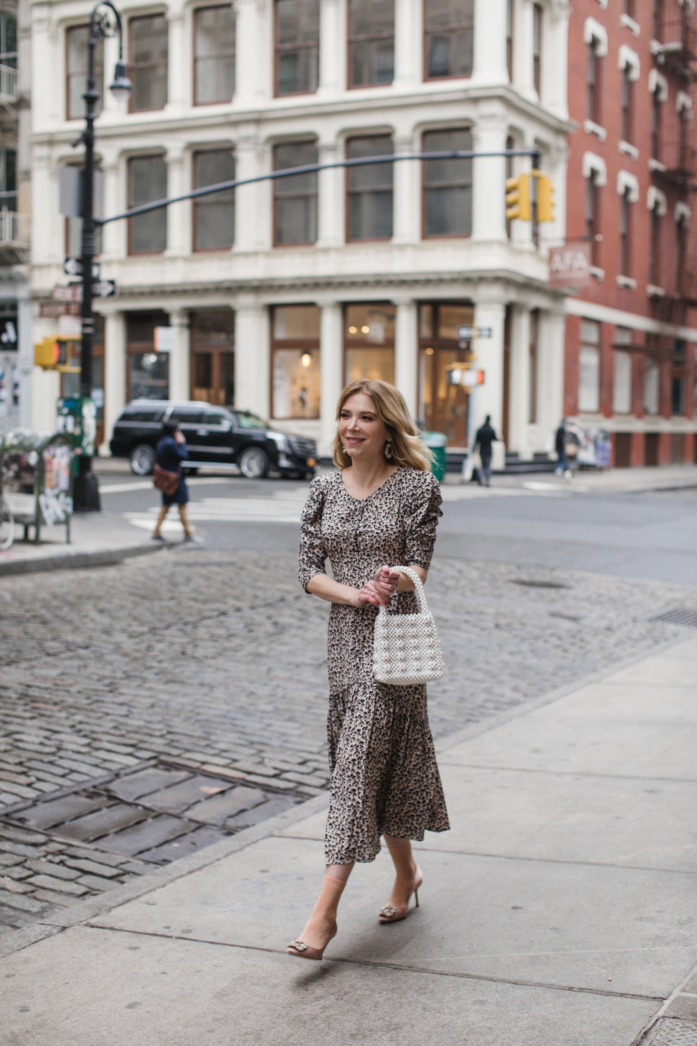 Rebecca Taylor leopard dress, Rebecca Taylor dress, www.abouttheoutfits.com, Laura Bonner, about the outfits