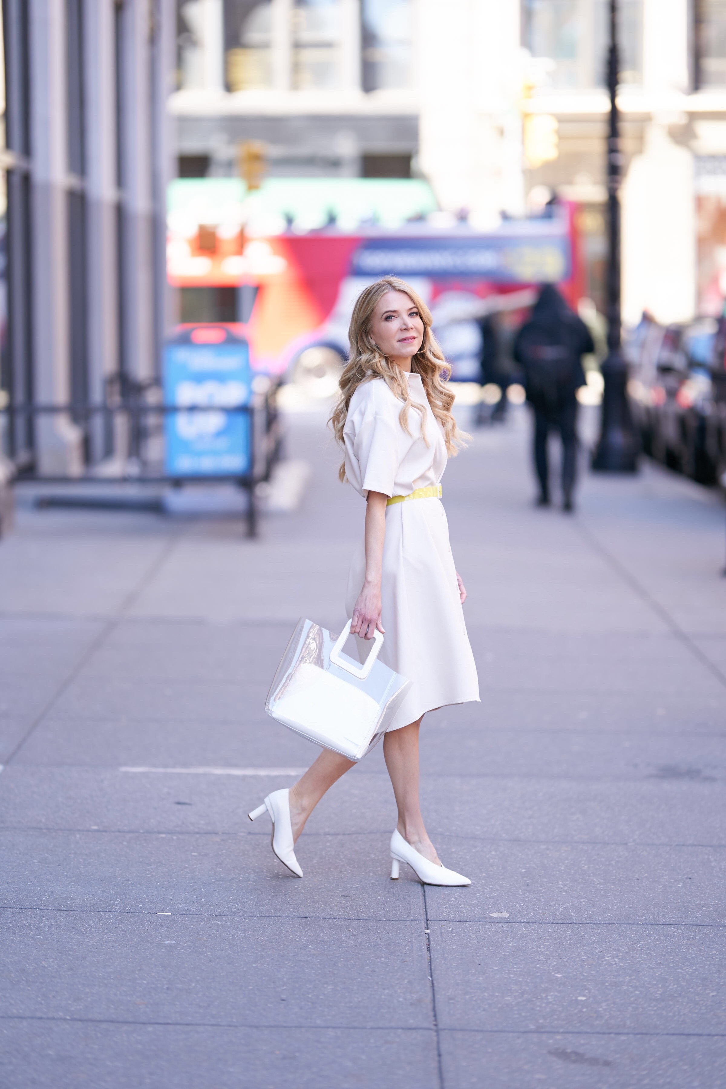 Laura Bonner, About the Outfits, www.abouttheoutfits.com, Target style, Staud bag, Tibi, Target