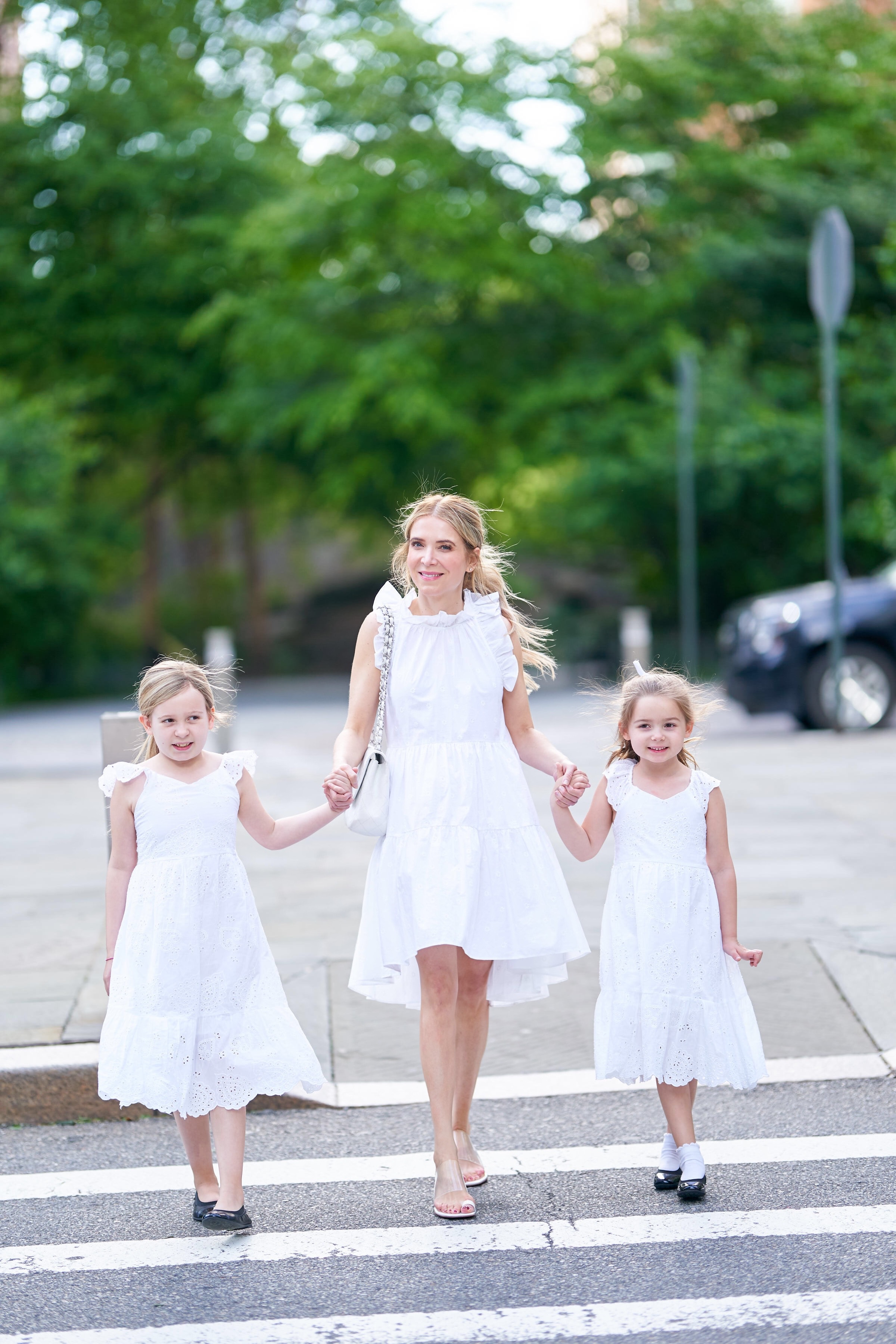 About the Outfits, matching dresses, Mommy daughter dresses, white dresses, www.abouttheoutfits.com