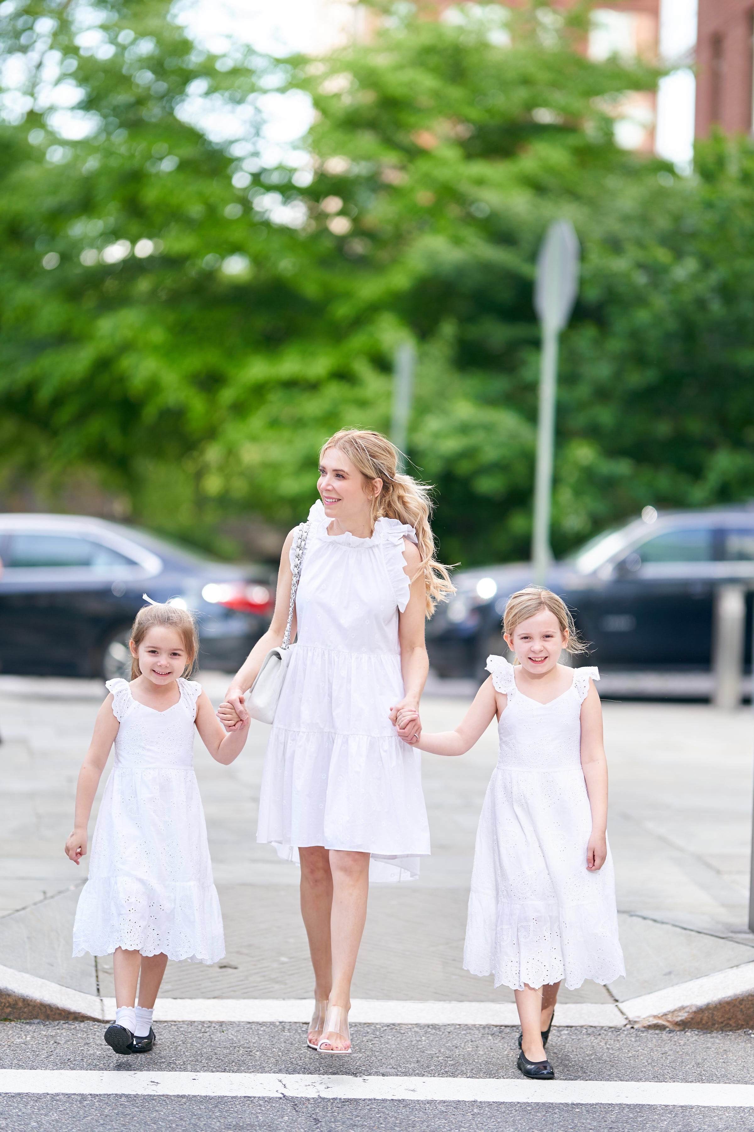 About the Outfits, Ulla Johnson, Mommy daughter style, white dresses, www.abouttheoutfits.com